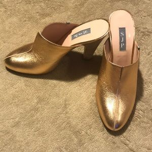 SJP by Sarah Jessica Parker Rigby Mule rose gold